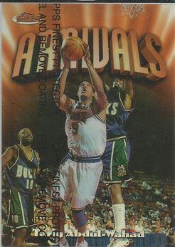 1997-98 Finest Refractors #207 Tariq Abdul-Wahad B
