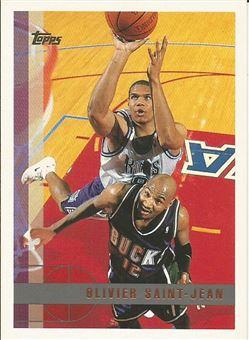 1997-98 Topps #188 Olivier Saint-Jean RC