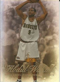 1999-00 Flair Showcase #84 Tariq Abdul-Wahad