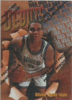 1997-98 Finest #112 Olivier Saint-Jean B RC