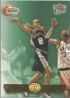2001-02 Ultra #177U Tony Parker RC