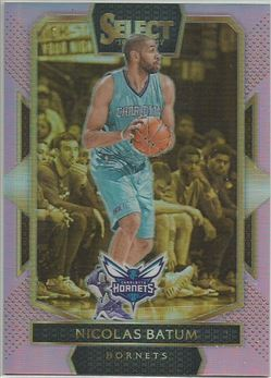 2016-17 Select Prizms National Convention Pink #248 Nicolas Batum
