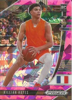 2020-21 Panini Prizm Draft Picks Prizms Pink Ice #52 Killian Hayes