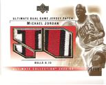 2003-04 Ultimate Collection Patch Dual