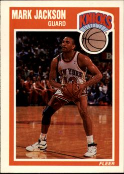 1989-90 Fleer #101 Mark Jackson