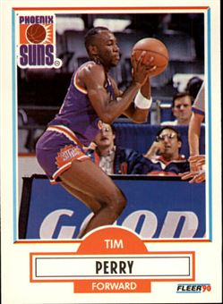 1990-91 Fleer #151 Tim Perry (suns)