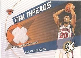 2002-03 Topps Xpectations Xtra Threads Relics #XTAHO Allan Houston A