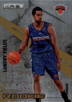 2010-11 Rookies and Stars Longevity #120 Landry Fields RC (knicks)