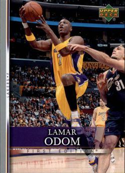 2007-08 Upper Deck First Edition #44 Lamar Odom (lakers)