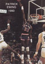 1990 Wasatch NBA All Stars Patrick Ewing #22