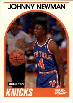 1989-90 Hoops #58 Johnny Newman