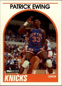 1989-90 Hoops #80 Patrick Ewing
