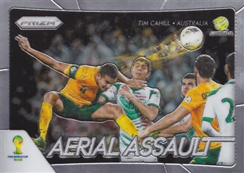 2014 Panini Prizm World Cup Aerial Assault #3 Tim Cahill