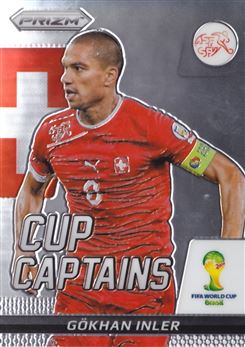 2014 Panini Prizm World Cup Cup Captains #12 Gokhan Inler