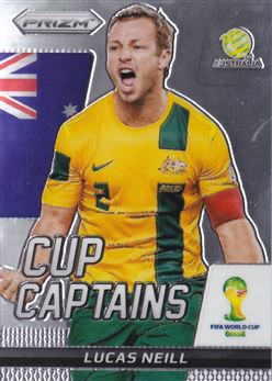 2014 Panini Prizm World Cup Cup Captains #19 Lucas Neill