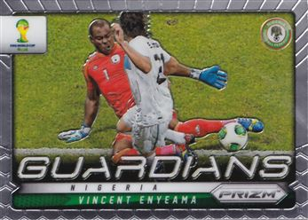 2014 Panini Prizm World Cup Guardians #18 Vincent Enyeama