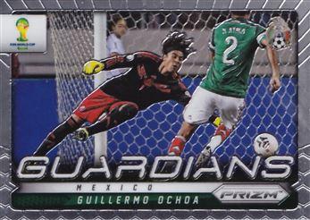 2014 Panini Prizm World Cup Guardians #17 Guillermo Ochoa