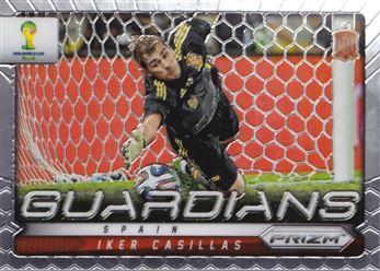 2014 Panini Prizm World Cup Guardians #21 Iker Casillas