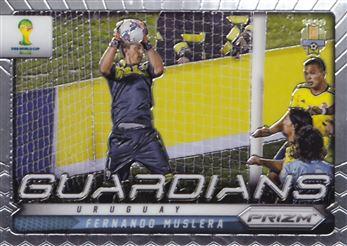 2014 Panini Prizm World Cup Guardians #23 Fernando Muslera