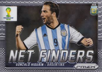 2014 Panini Prizm World Cup Net Finders #1 Gonzalo Higuain