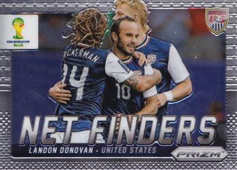 2014 Panini Prizm World Cup Net Finders #25 Landon Donovan