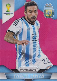 2014 Panini Prizm World Cup Prizms Red #10 Ezequiel Lavezzi 092/149