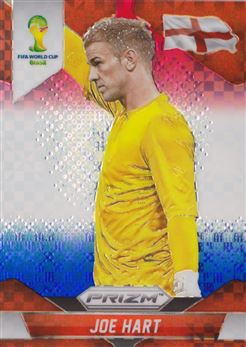 2014 Panini Prizm World Cup Prizms Red White and Blue #134 Joe Har