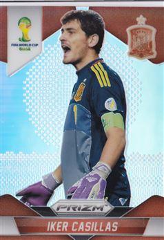 2014 Panini Prizm World Cup Prizms #170 Iker Casillas
