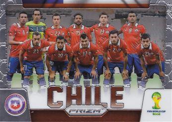 2014 Panini Prizm World Cup Team Photos #8 Chile