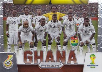 2014 Panini Prizm World Cup Team Photos #16 Ghana