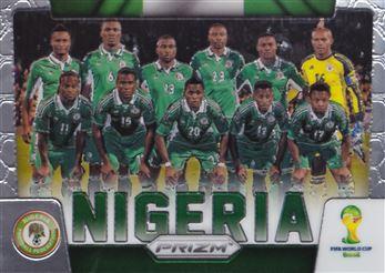 2014 Panini Prizm World Cup Team Photos #26 Nigeria