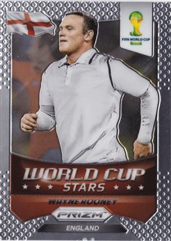 2014 Panini Prizm World Cup World Cup Stars #14 Wayne Rooney