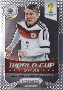 2014 Panini Prizm World Cup World Cup Stars #16 Bastian Schweinsteiger