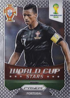 2014 Panini Prizm World Cup World Cup Stars #29 Nani