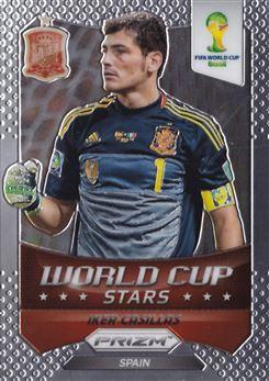 2014 Panini Prizm World Cup World Cup Stars #33 Iker Casillas