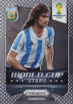 2014 Panini Prizm World Cup World Cup Stars #43 Mario Kempes