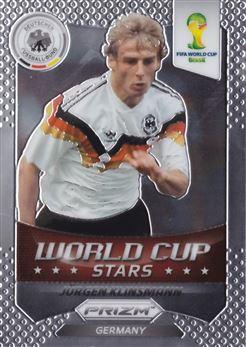 2014 Panini Prizm World Cup World Cup Stars #46 Jurgen Klinsmann