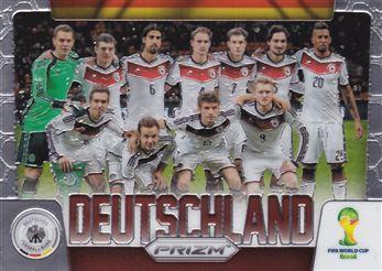 2014 Panini Prizm World Cup Team Photos #15 Deutschland