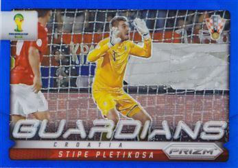 2014 Panini Prizm World Cup Guardians Prizms Blue #14 Stipe Pletikosa 082/199