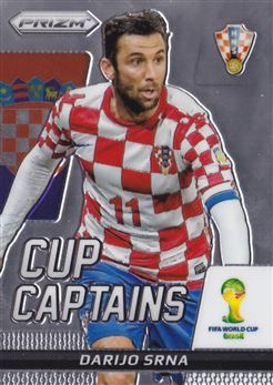 2014 Panini Prizm World Cup Cup Captains #6 Darijo Srna