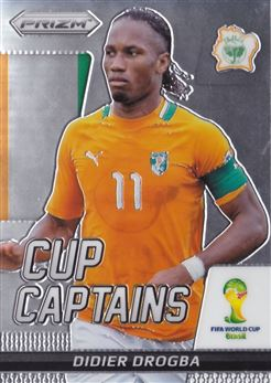 2014 Panini Prizm World Cup Cup Captains #7 Didier Drogba