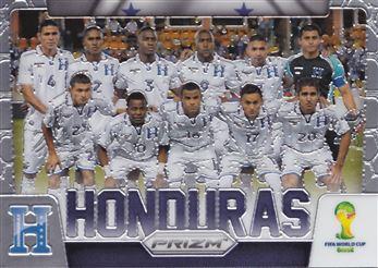 2014 Panini Prizm World Cup Team Photos #19 Honduras