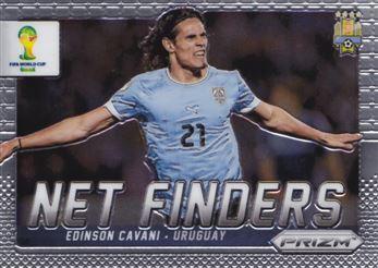 2014 Panini Prizm World Cup Net Finders #23 Edinson Cavani