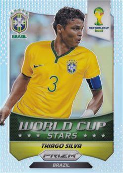 2014 Panini Prizm World Cup World Cup Stars Prizms #8 Thiago Silva