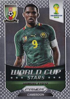 2014 Panini Prizm World Cup World Cup Stars #9 Samuel Eto'o