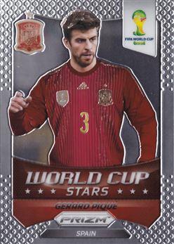 2014 Panini Prizm World Cup World Cup Stars #32 Gerard Pique