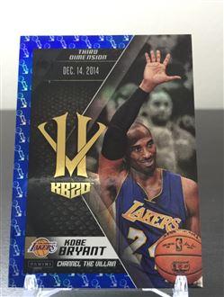2015-16 Panini HV KB20 Channel the Villain Blue Larry O'Brien Trophy #20 Kobe Bryant