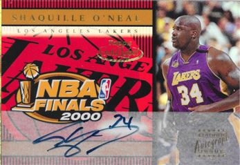 2000-01 Gold Label NBA Finals Shaquille O'Neal