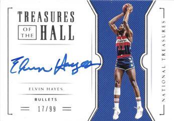 41. 2018-19 National Treasures Treasures of the Hall Elvin Hayes