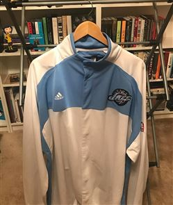 Ronnie Brewer game worn signed Warm-Up Jacket